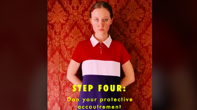 A TikTok user has shared a Wes Anderson-style guide to surviving a pandemic