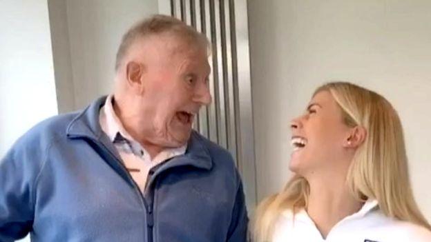 Grandad Joe: The 87 year old TikTok star