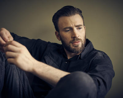 Esquire meets Captain America Chris Evans