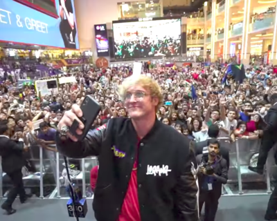 Logan Paul Hosts Dubai's Biggest Ever Meet and Greet