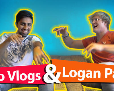 Logan Paul and Mo Vlogs Interview Challenge