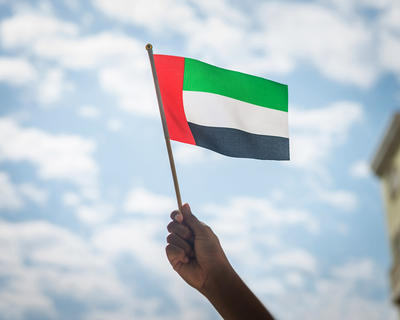 The UAE Is Celebrating Flag Day Today