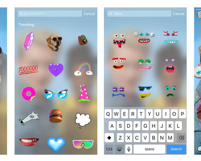 Instagram Just Added GIFS to its Stories