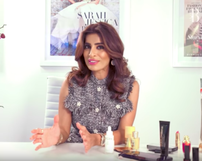 Rosemin Shares Her Travel Beauty Picks With Harper's Bazaar Arabia