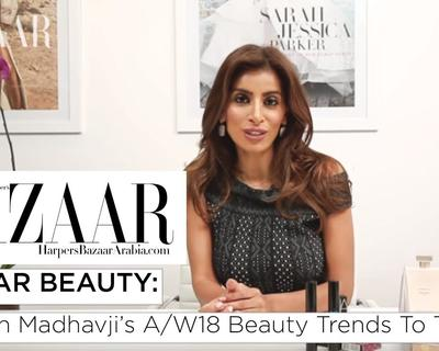 Rosemin Shares This Season's Beauty Trends With Harper's Bazaar Arabia