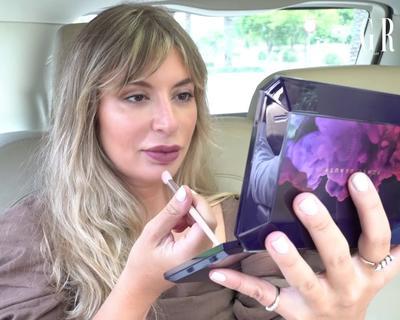 Rita Dahdah Does Grazia Middle East's Carpool Cosmetics