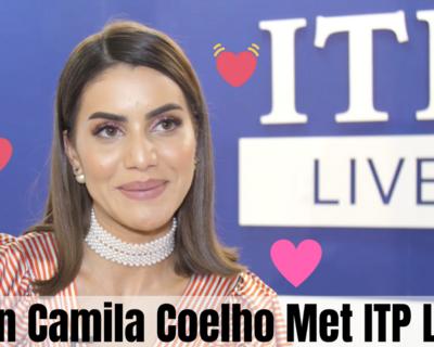 Camila Coelho Chats With ITP Live