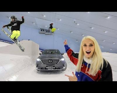 Supercar Blondie Pulls Off The Biggest Ski Stunt Dubai Has Ever Seen!