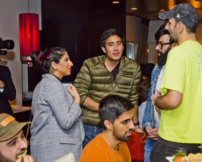 SPOTTED: ZACH KING, NOOR STARS, MO VLOGS AND FRIENDS AT TEATRO
