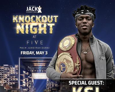 Superstar YouTuber KSI Will Attend Badou Jack's Knockout Night in Dubai