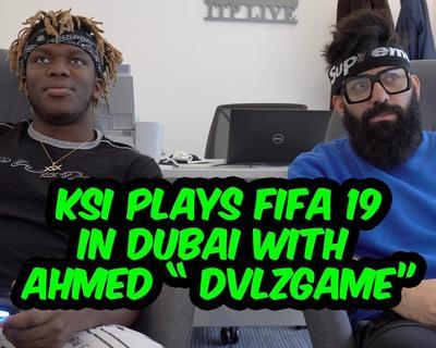 DVLZGame Challenges KSI to A 1v1 Game of Fifa 19