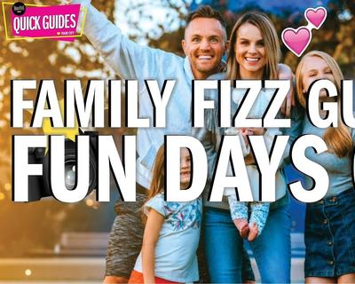 The Best Family Days Out with The Family Fizz and Time Out GCC