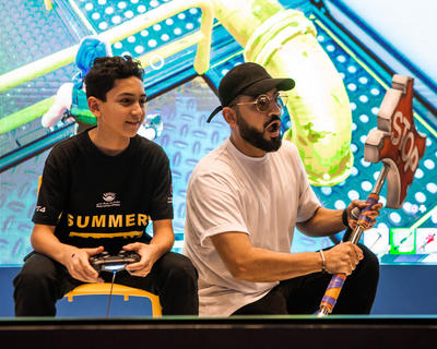Here's How It Went Down At The DSS Fortnite Party This Weekend