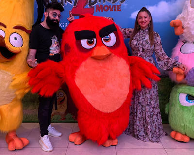 Guess Who Did Arabic Voice-Over in The Angry Birds Movie 2?!?