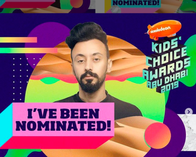 Guess Who's Up For A Nickelodeon Kids' Choice Award?!?