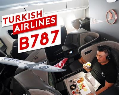 Inside Turkish Airlines New B787 Dreamliner with Sam Chui