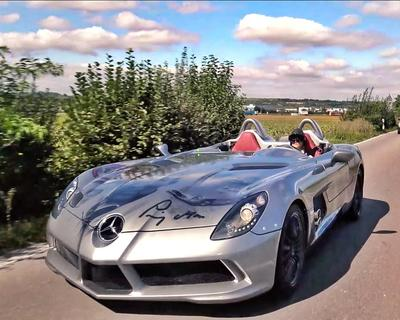 Check Out Supercar Blonde Cruising Around in This McLaren Stirling Moss