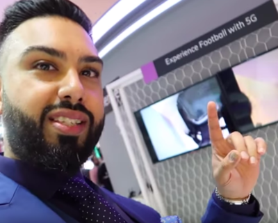 Regional Content Creators Check Out Ericsson's 5G Technology at GITEX