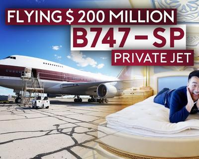 Flying A $200 Million Boeing Private Jet With Sam Chui