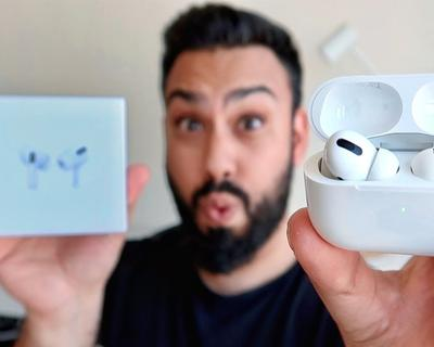 EMKWAN Unboxes and Reviews The New AirPods Pro