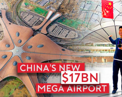 Sam Chui Checks Out A Brand New $17 Billion Mega Airport