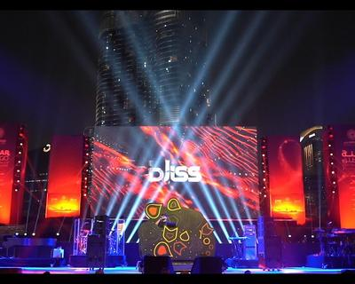 DJ Bliss DJ'ed For The World's Biggest Show in Dubai!