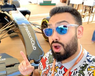 EMKWAN Shares His Formula 1 Paddock Club Experience in This Video