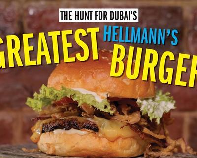 Dubai's Greatest Hellmann's Burgers Checks Out The Tiniest Burger Joint in Dubai