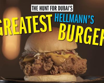 Dubai's Greatest Hellmann's Burgers Sees She Burger Getting in On The Action