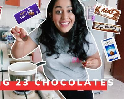 Check Out What Naomi D'Souza Did with a Bunch of Chocolate