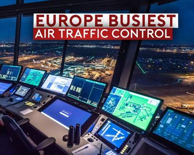 Sam Chui Takes Us Inside Europe's Busiest Air Traffic Control