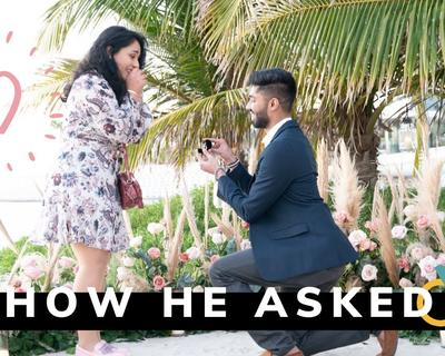 Naomi D'Souza Shares Her Proposal Story with Her Fiance in Her Latest Video