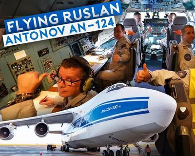 Sam Chui Shares His Experience Flying on an Antonov AN-124 Cargo Transporter