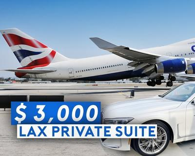 Sam Chui Checks Out LAX's Private Suite and BA's Super B747 Business Class