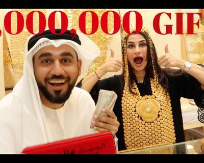 DJ Bliss Takes His Wife to Dubai's Infamous Gold Market