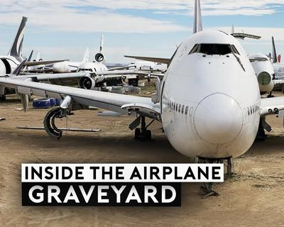 Here's What Happens Inside An Airplane Graveyard