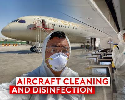 Sam Chui Shows Us How Airlines Disinfect Their Planes