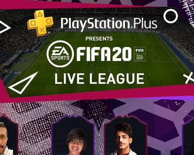 PlayStation Plus has launched FIFA20 Live League KSA