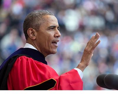 Barack Obama has been announced as the commencement speaker for YouTube's Virtual Graduation Ceremony