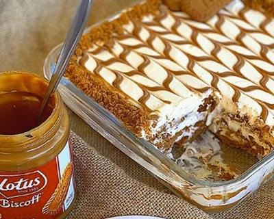 Internet Foodies are obsessed with Lotus Biscoff Lasagne