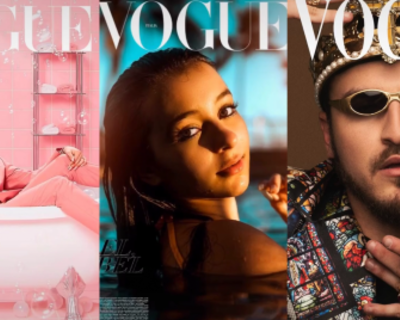Why are people turning themselves into Vogue cover stars?