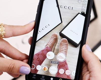 Gucci launches 1st global shoe try-on in Snapchat