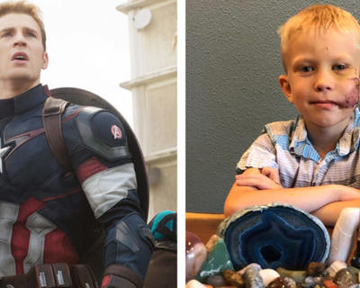 THE SIX-YEAR-OLD HERO THAT SAVED HIS SISTER FROM A DOG ATTACK