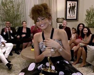 Zendaya wins her first Emmy for 'Outstanding Lead Actress' in teen drama Euphoria