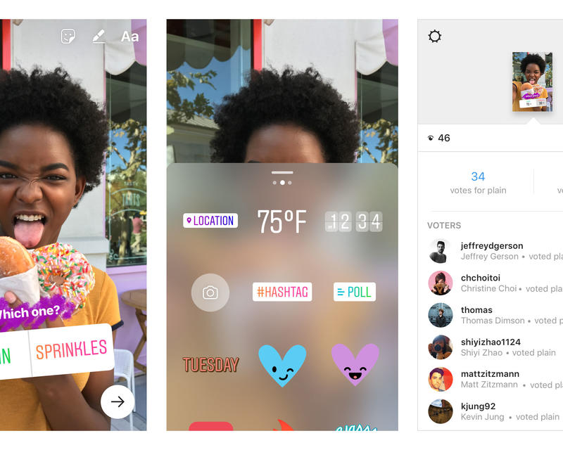 Instagram Has Just Introduced Interactive Poll Stickers