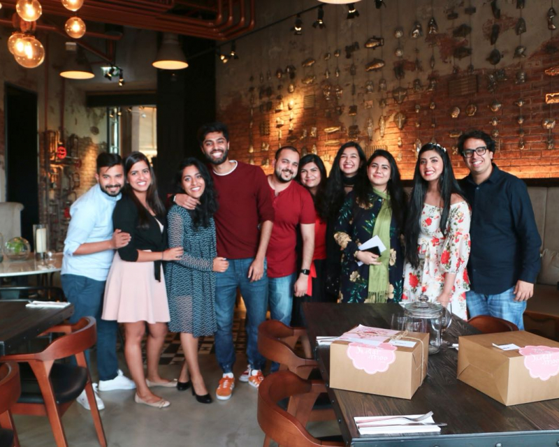 Local influencer Naomi D'Souza takes contest winners on a foodie day out