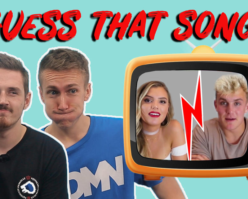 """Syndicate and Miniminter Do The """"Guess That YouTuber's Song"""" Challenge"""