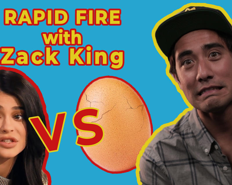 ZACH KING DOES THE RAPID FIRE INTERVIEW CHALLENGE