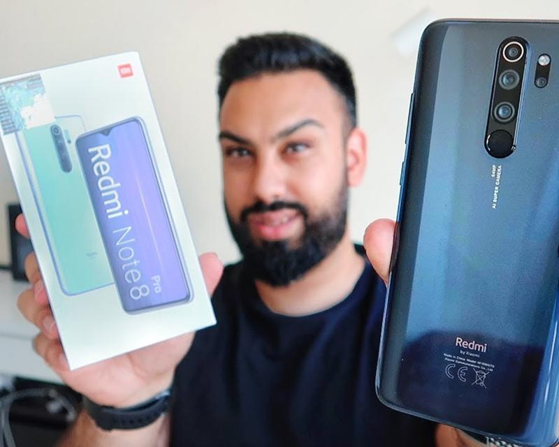 EMKWAN Unboxes and Reviews the Redmi Note 8 Pro