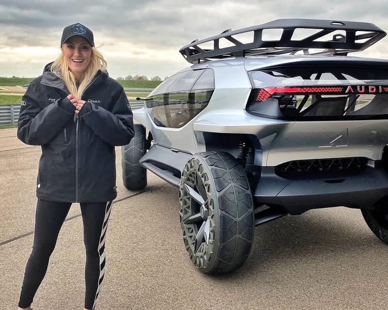 Supercar Blondie Checks Out The Car With 5 Drones